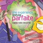 Soirée radio-dessinée en live et en public, le 15 juin 2013, à Lyon